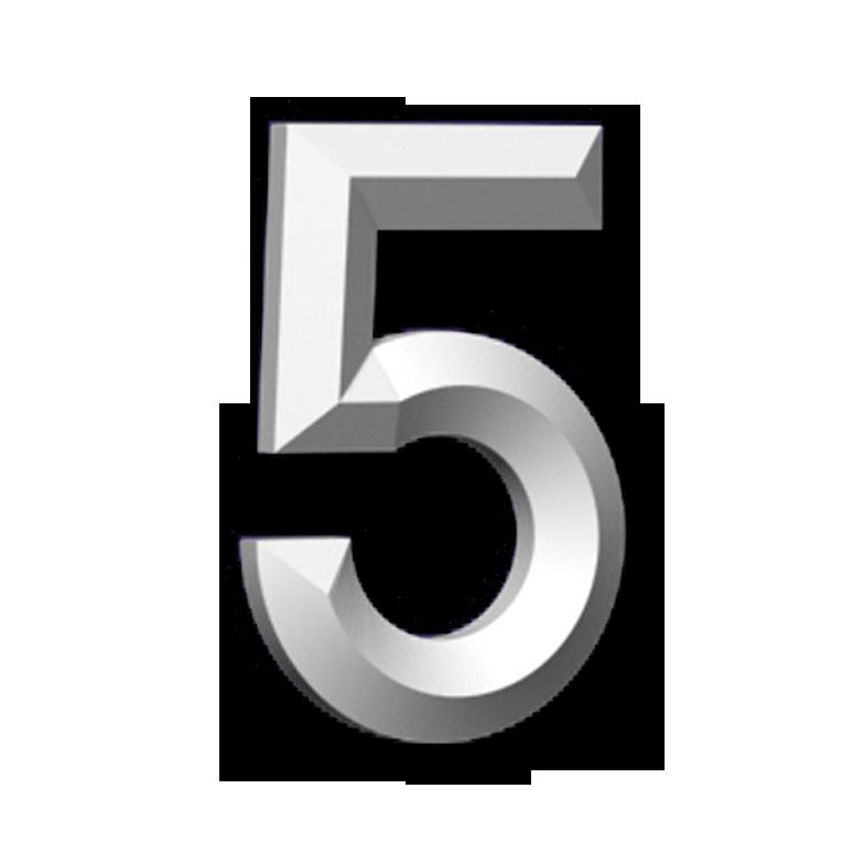 """#5 6"""" CHIFFRE"""