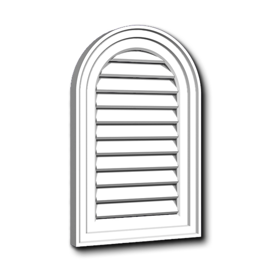 """CATHEDRALE VENTILLEE 14 1/4"""" X 21 7/8"""""""